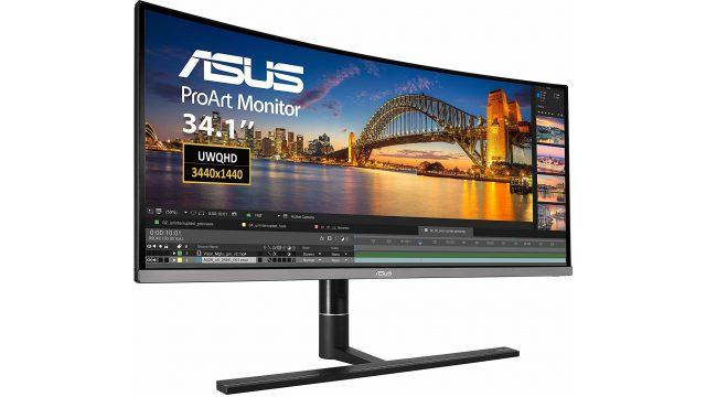 Sekilas: Asus ProArt PA34VC Professional Review Monitor Melengkung 1