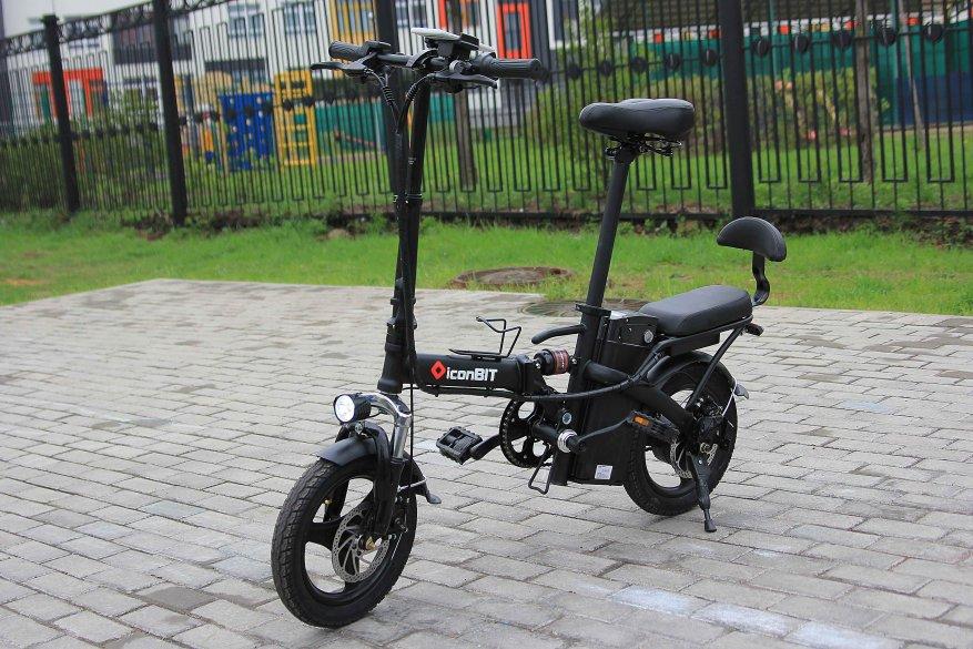 Sepeda listrik kota Iconbit E-Bike K202 1