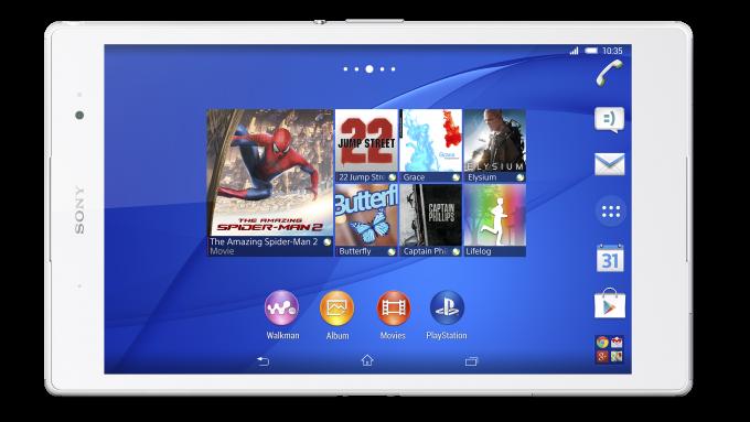 Sony Xperia Z3 Tablet Compact vs iPad Mini dengan Retina Display - perbandingan spesifikasi 2