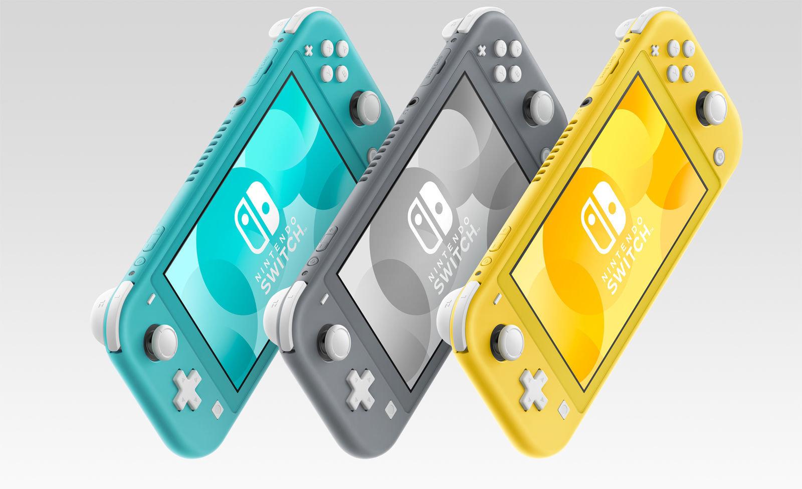 Прегледајте ги деталите за новата конзола Nintendo Lite Switch 1