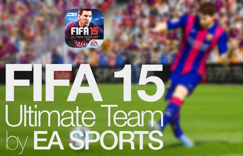 Las transferencias llegan al primer equipo de FIFA 15 para iPhone y iPad 2