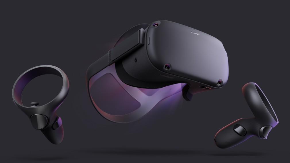 Imagen de Oculus Quest: la parte frontal del dispositivo