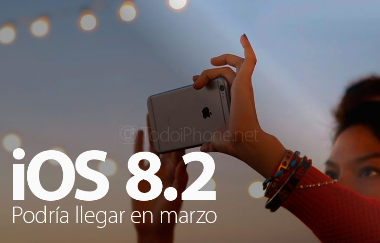 iOS 8.2 iPhone üçün gələn ilin mart ayında gələ bilər 2