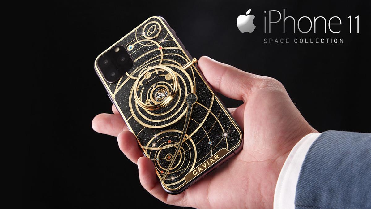 Комплетна колекција на iPhone 11: 5 Луксузни паметни телефони ќе бидат лансирани од Caviar 1