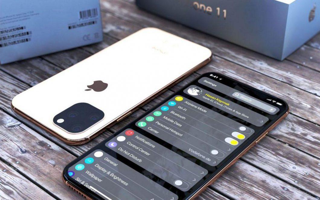 iPhone 11: املأ وجهه لأسفل وتحسن معرف الوجه 1