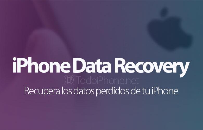 Recuperación de datos de iPhone, recupera datos perdidos de tu iPhone 2