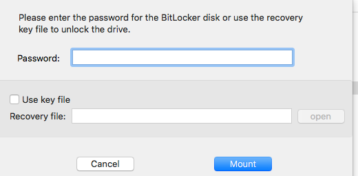 Revisión de iSumsoft BitLocker Reader para Mac 1