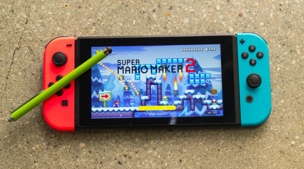 Sử dụng bút stylus giúp tạo pha dễ dàng trong Super Mario Maker 2