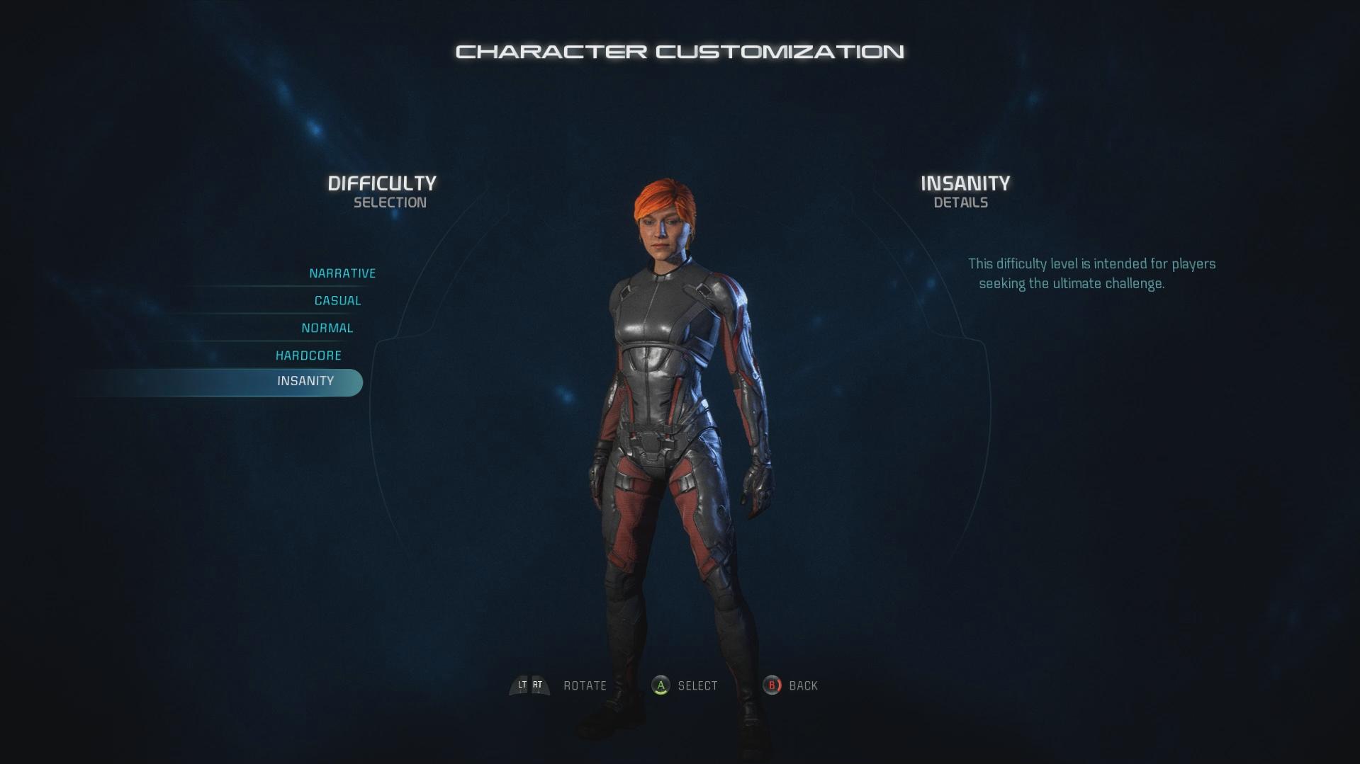 """Mass Effect: Andromeda Mübarizə Bələdçisi - Çətinlik """"width ="""" 1349 """"height ="""" 759"""