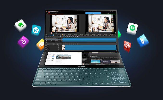 ASUS ZenBook Pro Duo UX58: Лаптоп со двоен екран со 100% DCI-P3 OLED 5