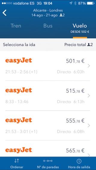 GoEuro, juna, bussi ja lentokone etsimällä iPhonestasi 3