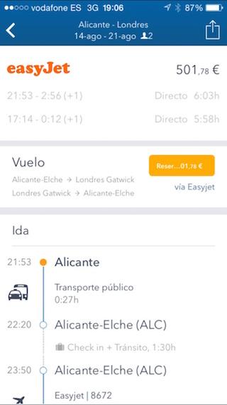 GoEuro, juna, bussi ja lentokone etsimällä iPhonestasi 4