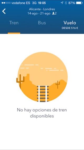 GoEuro, juna, bussi ja lentokone etsimällä iPhonestasi 6
