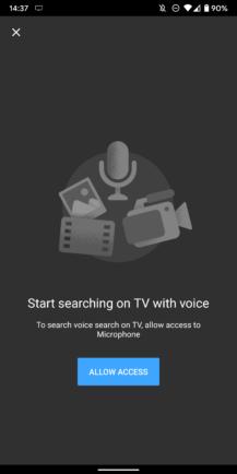 """Cómo controlar completamente YouTube en tu TV desde tu móvil, con búsqueda por voz y gestión de colas 5""""ancho ="""" 217 """"altura ="""" 434"""