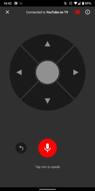 Cómo controlar completamente YouTube en su televisor desde su teléfono móvil, con búsqueda por voz y gestión de colas 10