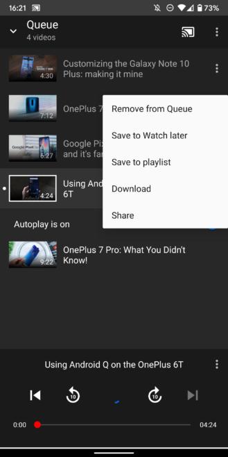 Kuinka hallita täysin YouTube televisiossasi matkapuhelimella äänihaun ja jononhallinnan avulla 12