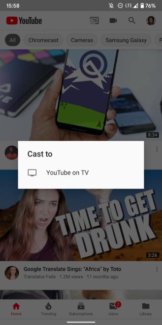 Cómo controlar completamente YouTube en tu TV desde tu móvil, con búsqueda por voz y gestión de colas 14