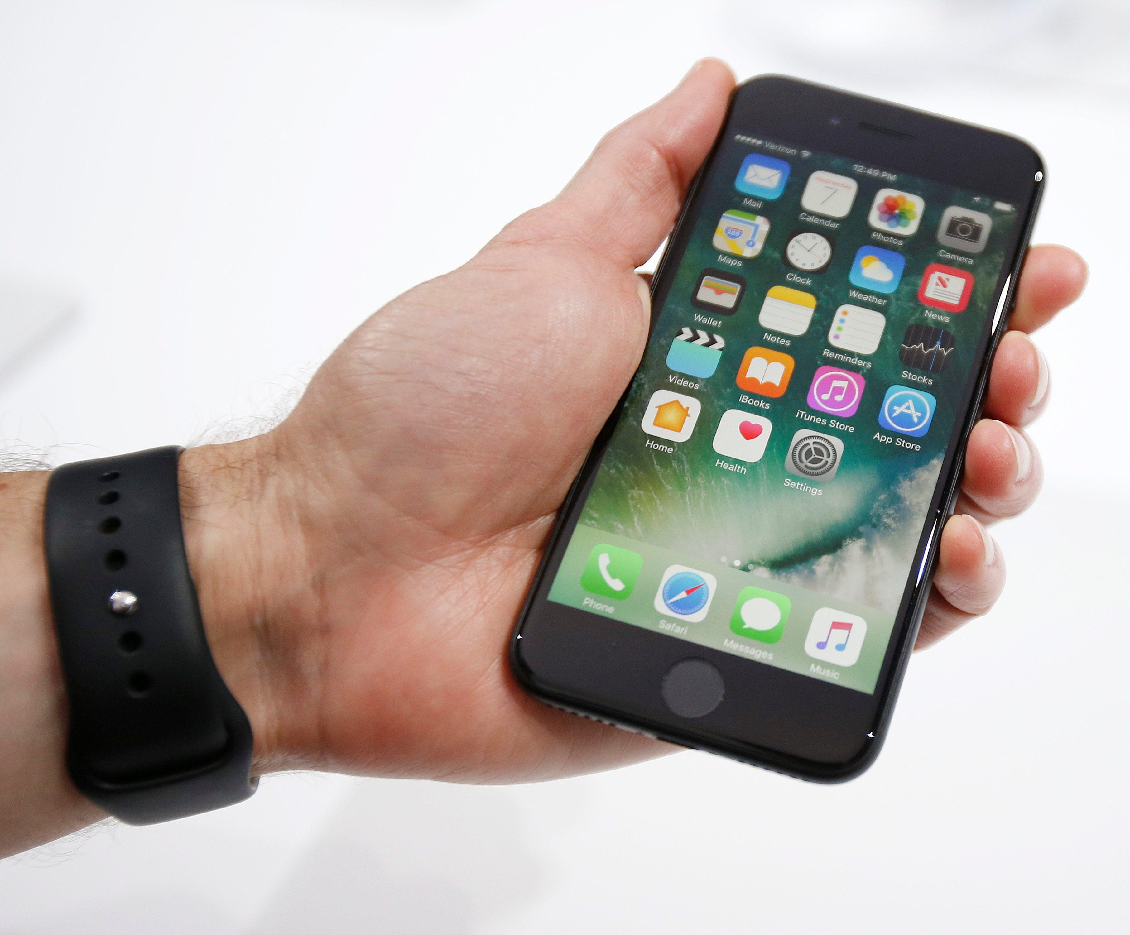 IPhone 7 выпущен ранее в этом году