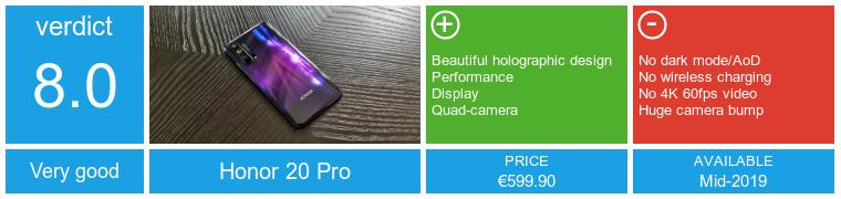 Honor 20 Pro преглед: Друг неверојатен дизајн, други уреди за Кирин 980 15