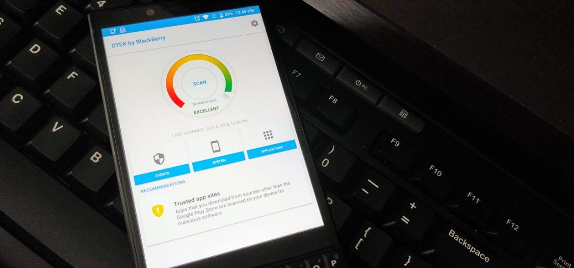 Use BlackBerry's DTEK Security Suite to Protect Your Device