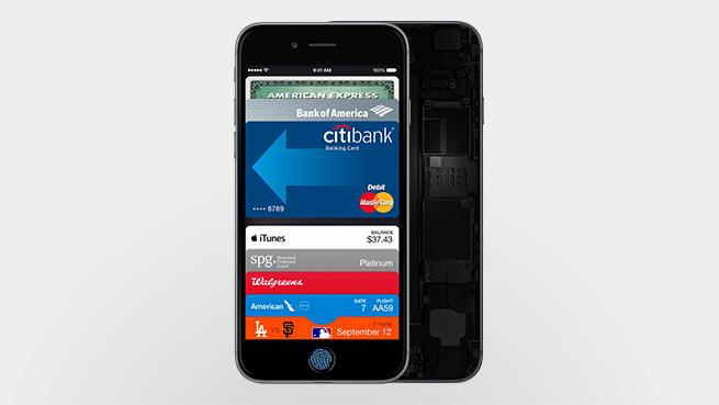 Apple Pay        Cyn bo hir bydd ar gael yn Ewrop gyda Visa a MasterCard 3