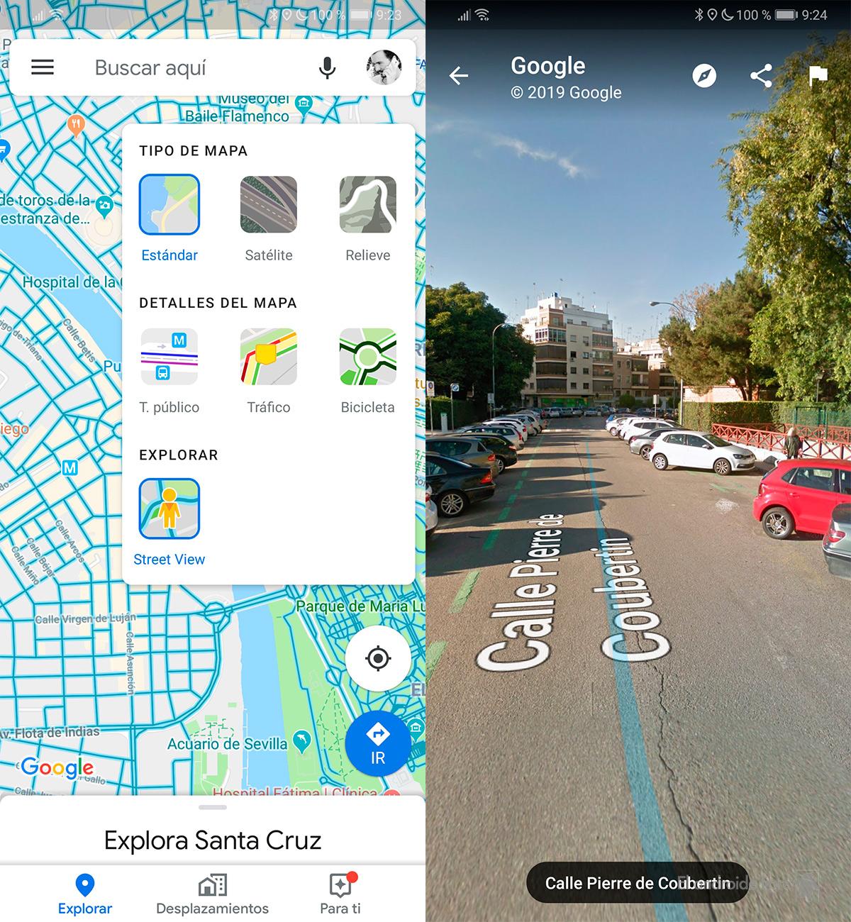 Google Maps додава нов слој со Street View во неговиот интерфејс 1