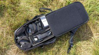 Anafi FPV: birlikte verilen sırt çantasına uyan komple kit