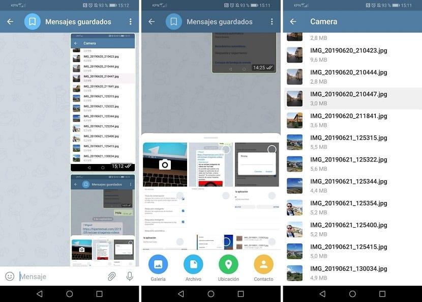 Telegram odosiela fotografie bez straty kvality