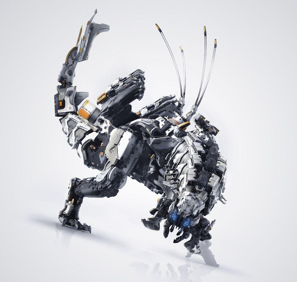 Комплетен список на машински суштества на хоризонтот: Нулта зора 14