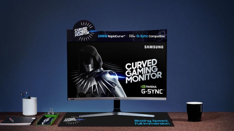 Samsung CRG5 Lands Monitor Monitor Gaming Land во Малезија;  Трговија на мало за RM1699 1
