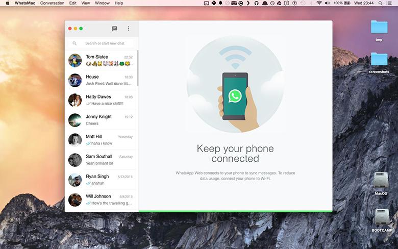 WhatsMac tuo WhatsApp-keskustelut Mac-tietokoneellesi ilmaiseksi 3