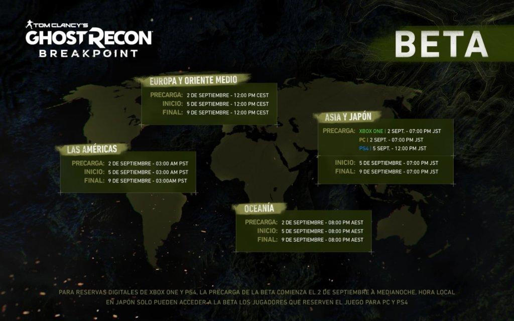 Затворената бета верзија на Ghost Recon Breakpoint ќе започне оваа недела и сега ќе може да се преземе 1