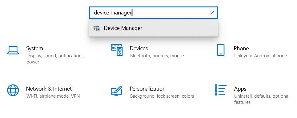 Kosketusnäytön poistaminen käytöstä käynnissä olevassa laitteessa Windows 10 1