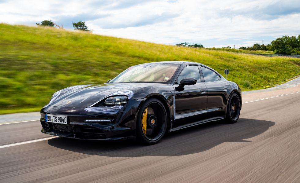 Szczegóły Porsche Taycan
