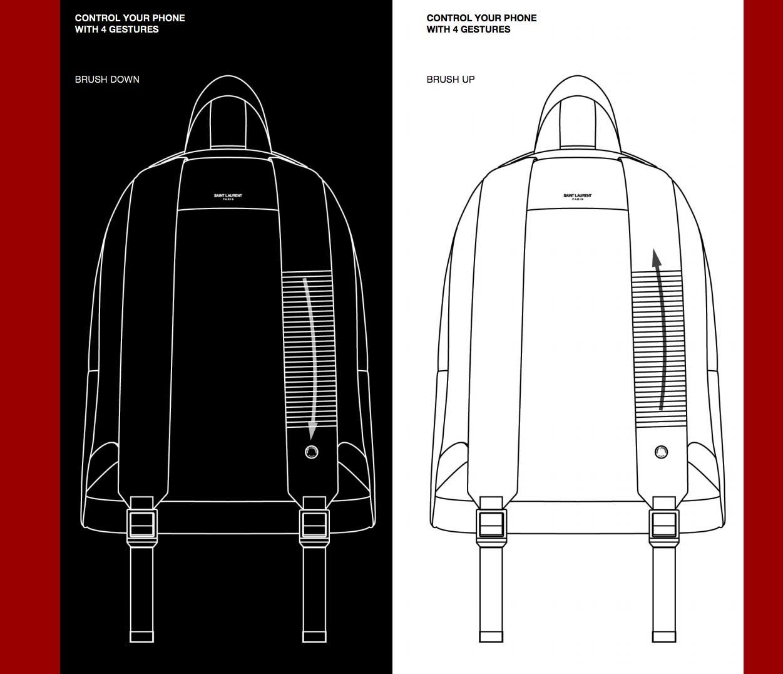 YSL ruksak CIT-E dio je Googleovog nadolazećeg pametnog modnog jacquarda 2
