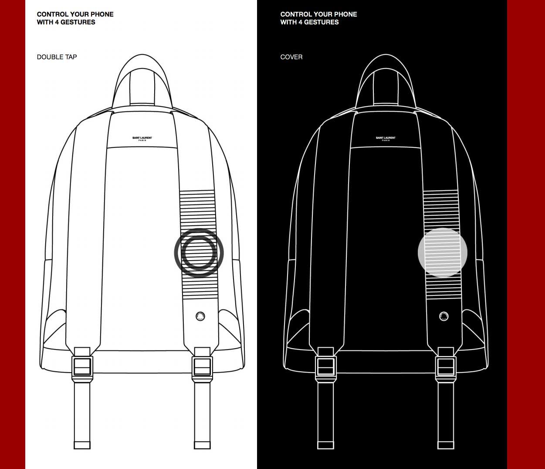 YSL ruksak CIT-E dio je Googleovog nadolazećeg pametnog modnog jacquarda 3