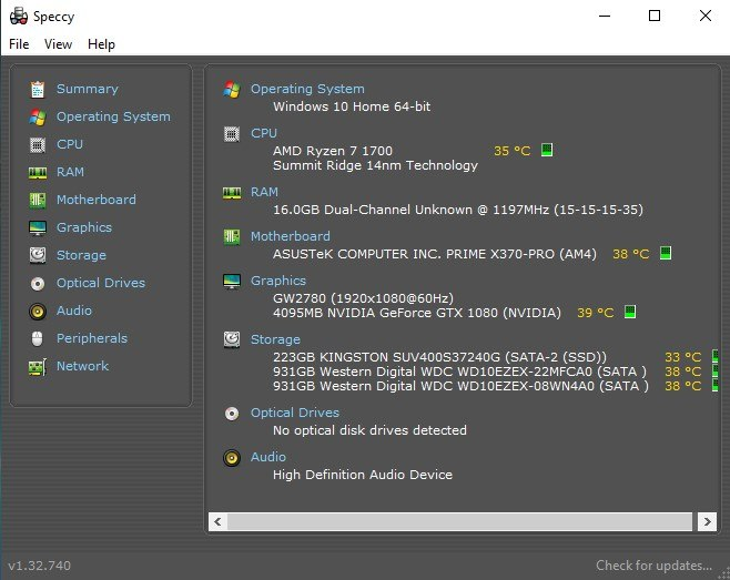 Sut i wirio'r manylebau Windows 10