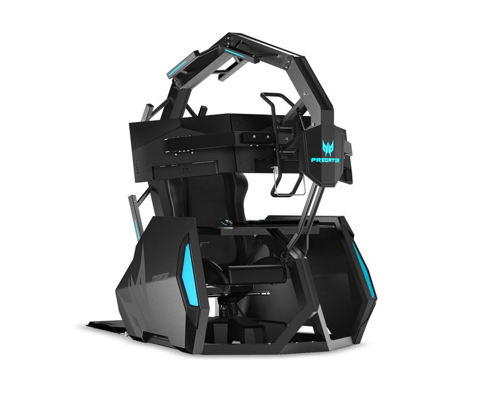 Mẹo chơi game Acer 300Hz Gaming, Ghế chơi game trị giá 14.000 USD 2