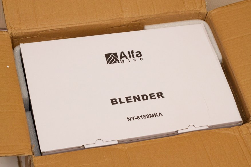 Ulasan Alfawise Stationary Blender: 2.000 Watt Power dan 2 L Glass Bowl 2