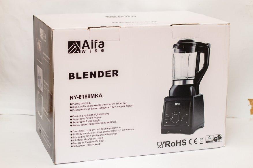 Ulasan Alfawise Stationary Blender: 2.000 Watt Power dan 2 L Glass Bowl 3