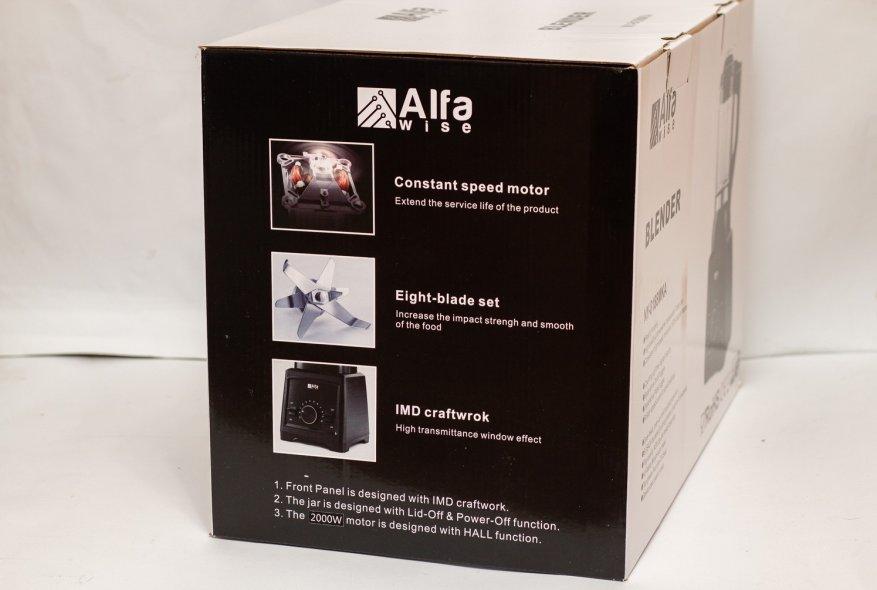 Ulasan Alfawise Stationary Blender: 2.000 Watt Power dan 2 L Glass Bowl 4