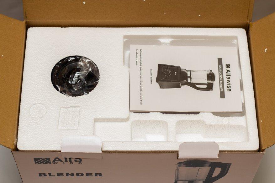 Ulasan Alfawise Stationary Blender: 2.000 Watt Power dan 2 L Glass Bowl 5