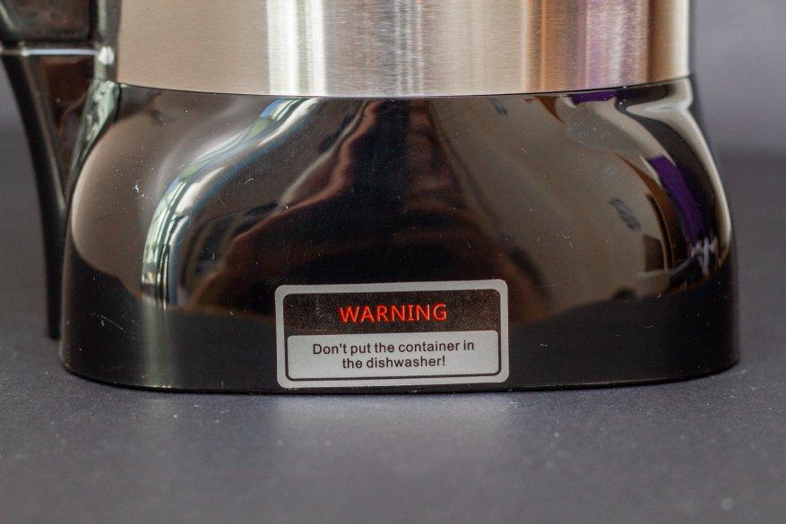 Ulasan Alfawise Stationary Blender: 2.000 Watt Power dan 2 L Glass Bowl 12