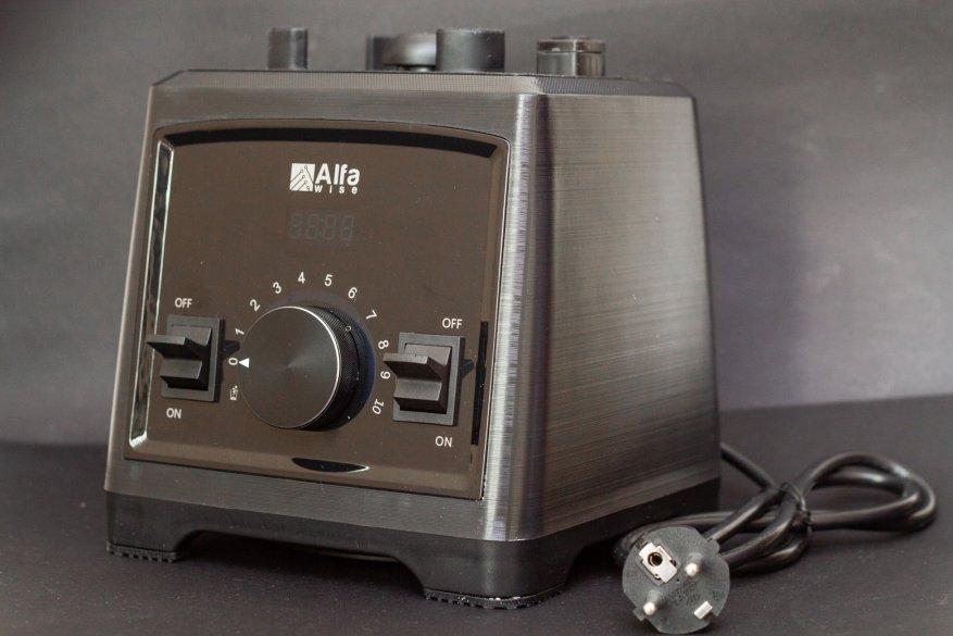 Ulasan Alfawise Stationary Blender: 2.000 Watt Power dan 2 L Glass Bowl 26