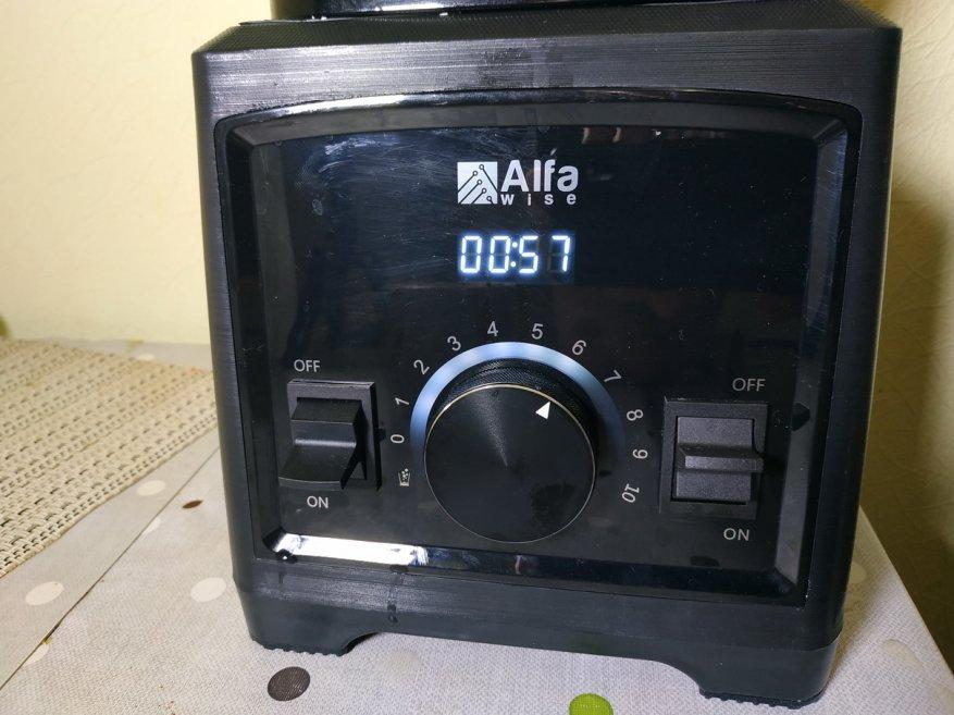 Ulasan Alfawise Stationary Blender: 2.000 Watt Power dan 2 L Glass Bowl 33