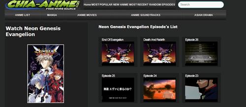 El mejor lugar para ver Evangelion Neon Genesis 2