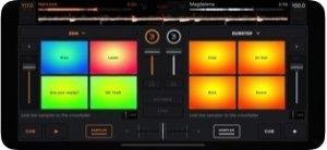 ekjing Mix - екран за апликација dj