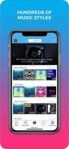 Екран за создавање музика JAM