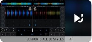 Екран на DJ Player Professional1