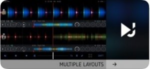 Професионален екран на DJ Player